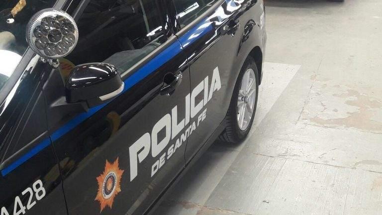 Parte policial sobre el hurto del camión