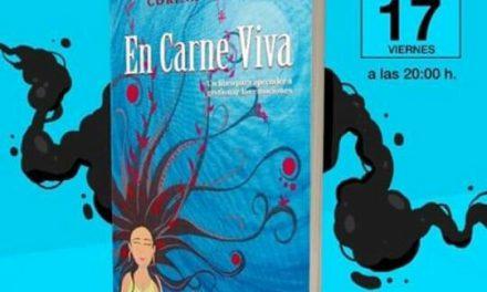 "Corina Valdano presenta su libro ""En carne viva"""