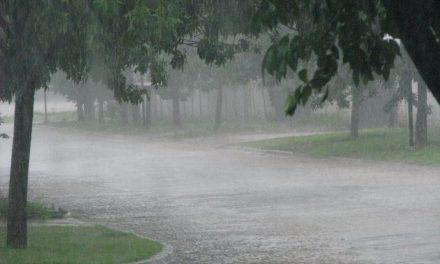 Clima con lluvias y luego mucho frío