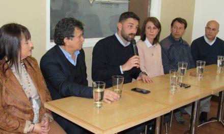Conferencia de Sandra Clérici y Enrique Estévez, candidatos de Consenso Federal