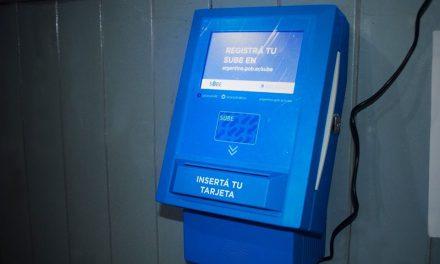 Funciona la terminal automática para la tarjeta SUBE