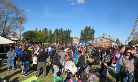 Una multitud en los festejos del Día del Niño