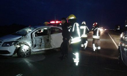 Una familia de El Trébol sufrió un accidente en ruta 178