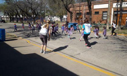 Maratón saludable en el JIN 123