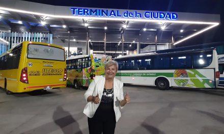 Inauguraron la nueva Terminal de Ómnibus de Cañada de Gómez
