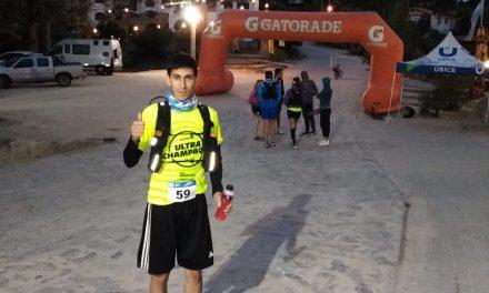 """Compitió en los 50K de la """"Ultra Champaquí"""""""