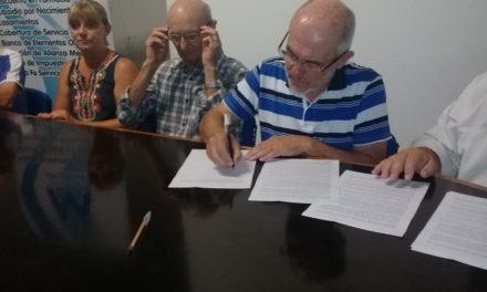 Convenio de Mutual de Argentino con Rotary para contar con elementos ortopédicos
