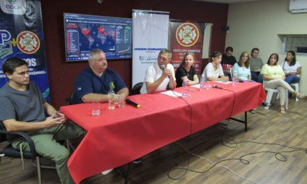 Las autoridades expusieron sobre los trabajos de prevención que están efectuando