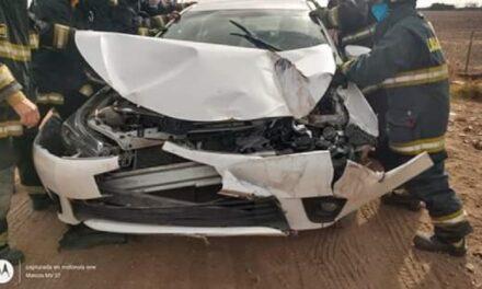 Titular de importante empresa de Las Parejas se accidentó en zona rural