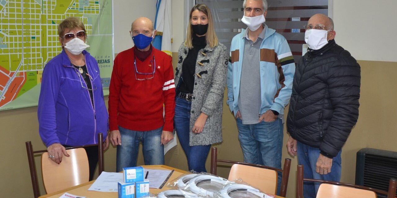 Rotary entregó insumos sanitarios