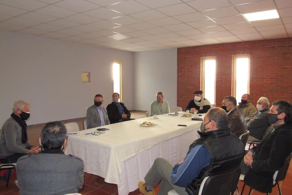 Reunión con Osvaldo Aymo, subsecretario de la Agencia Provincial de Seguridad Vial