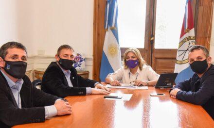 Reunión de Compagnucci con la Ministra de Salud