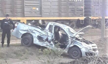 Accidente en las vías férreas de Armstrong
