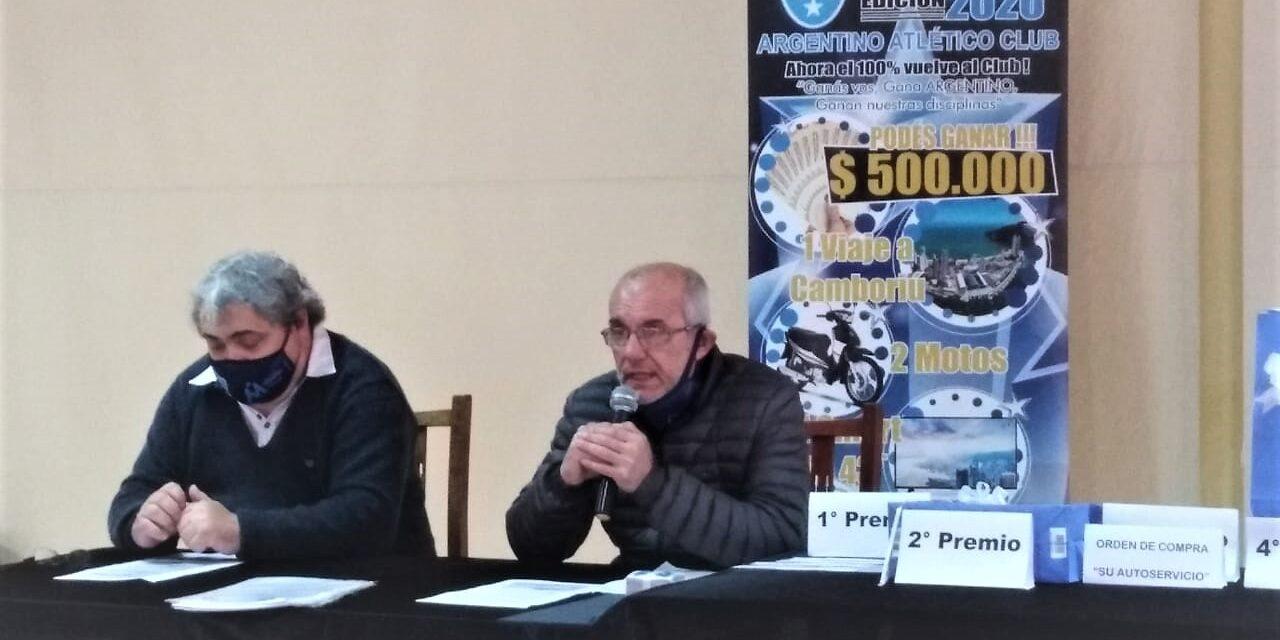 """Moratoria y sorteo para los """"Socios de Fierro"""" de Argentino"""