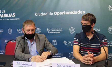 Municipalidad suscribió convenio para obras de infraestructura en futuros loteos