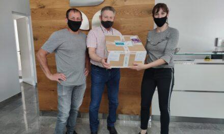 El CALPA realizó una importante donación al SAMCo Las Parejas