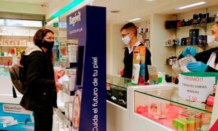 Farmacia de la Mutual de Sportivo atiende con restricción de ingreso