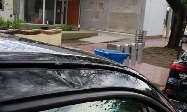 Agresiones y balas de goma en el Parque Municipal