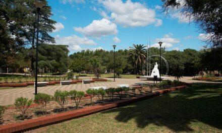 Se viene la refacción de la Plaza Ovidio Lagos