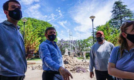 Remodelan la Plaza Ovidio Lagos