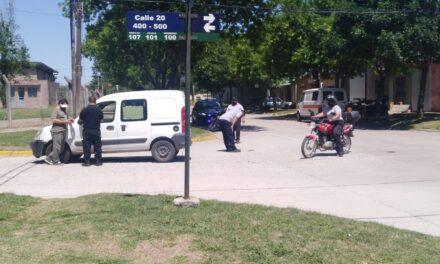 choque en calles 9 y 20 y presunta estafa en las policiales