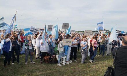 #8N: Nueva marcha contra el Gobierno Nacional en la rotonda de ruta 9