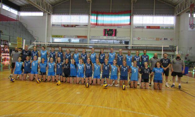 Finalizó la pretemporada de la Selección Nacional Femenina de Vóley en Sportivo