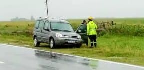 Despiste de vehiculo en Ruta 178