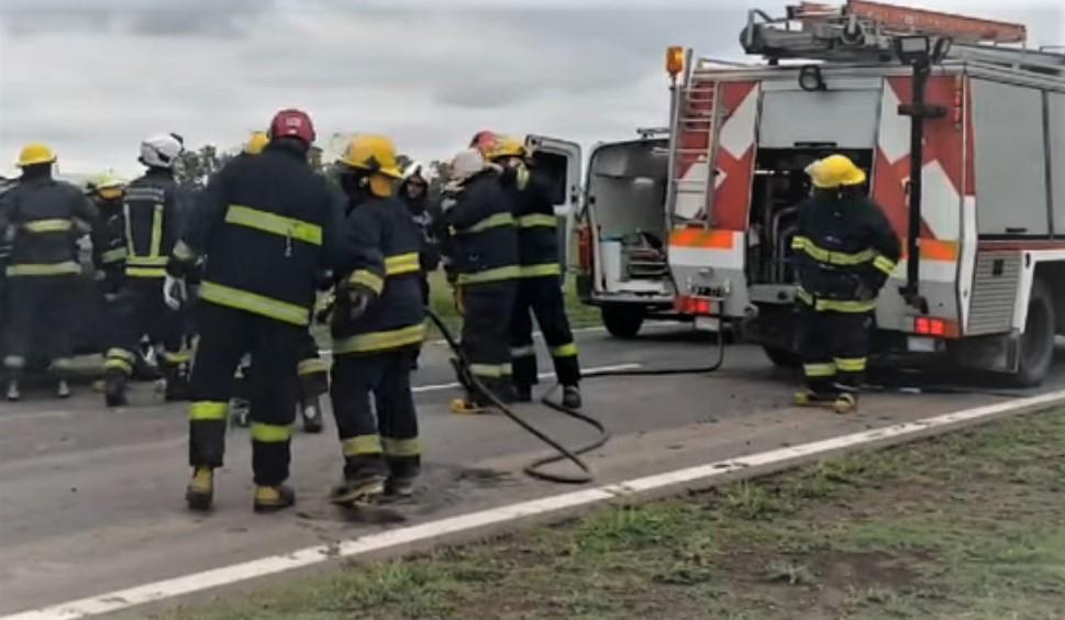 Accidente fatal en Ruta 15