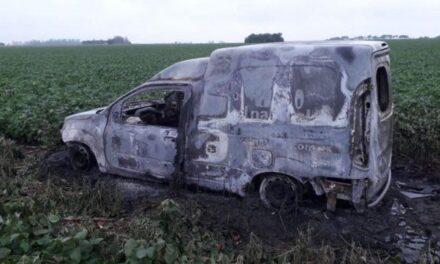 Ruta 34: hallaron el cuerpo de un hombre calcinado dentro de un utilitario