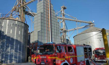 Explosión en una planta de acopio de cereales