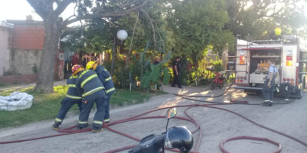 Incendio en una vivienda de Diagonal 3