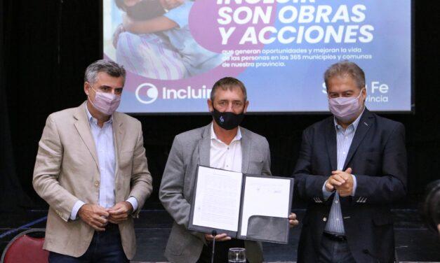 LA PROVINCIA REALIZARÁ OBRAS DE SANEAMIENTO EN LAS PAREJAS Y SE BENEFICIARÁN MÁS DE 3 MIL VECINOS