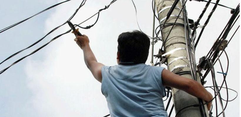 Robaron cables destinados a electricidad para el sector del basural