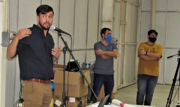 """Comisión Joven del Centro Industrial presentó el """"Club de Robótica"""""""