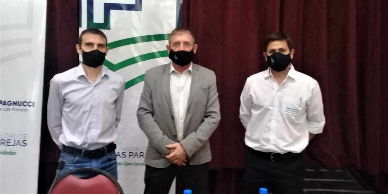 Asumieron los Secretarios de Salud e Industria en Municipalidad de Las Parejas