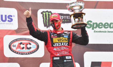 En TC, Facundo Ardusso tercero en Paraná