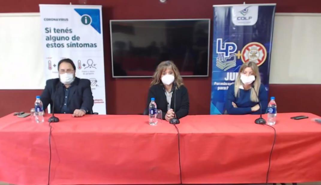 """Conferencia de los Directores del SAMCo Depto. Belgrano, por Covid19: """"No hay camas, estamos colapsando"""""""