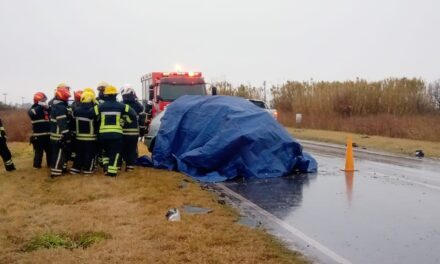 Falleció un parejense en un grave accidente en la Ruta 13 de Córdoba
