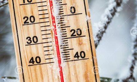 Anuncian temperaturas mínimas muy bajas