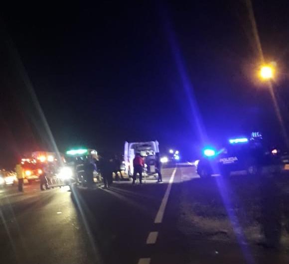 Accidente fatal en el cruce a Montes de Oca