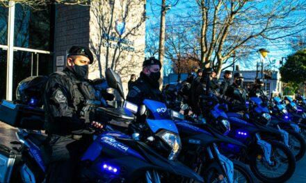 Entregaron Motos 0 Km. para la Policía de Las Parejas