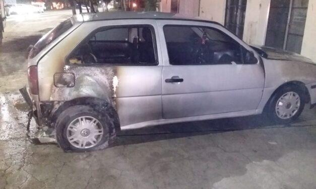Incendio en un vehículo